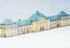 "Well Built Z-scale  train station large ""BADNAUHEIM"" by Kibri"