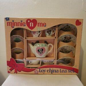Vintage Minnie N Me Toy China Tea Set