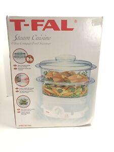 T-Fal Steam Cuisine Ultra Compact Food Steamer/Cooker
