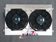 Aluminum Shroud + 2 Fan for 80 Series Landcruiser 1HZ Diesel & 1HDT Turbo AT/MT