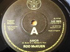 "ROD McKUEN - AMOR  7"" VINYL"