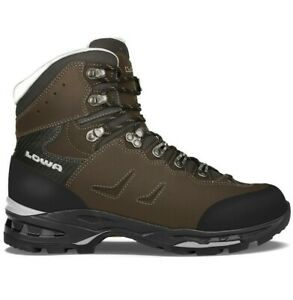 LOWA 2104619499 Men's Camino LL Dark Gray/Black Leather Trekking Boots Shoes
