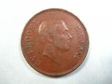 SARAWAK 1 CENT 1927 RAJAH CV BROOKE MALAYSIA 30# Money Coin