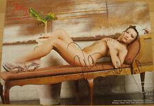 █▬█ Ⓞ ▀█▀ JANA BACH Ⓗⓞⓣ Jana Bundfuss Ⓗⓞⓣ  original Autogramm Poster 21x 29,5 cm