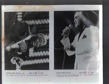 Joe Williams & John Carl Hendricks Jazz 1993 Black & White Photo
