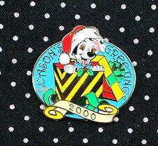 Disney Pin 101 Dalmatians Puppy Dlr Season's Greetings 2000 Free Shipping