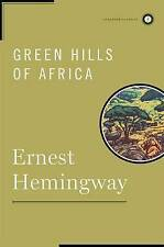 Green Hills of Africa (Scribner Classics)-ExLibrary