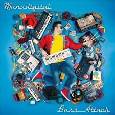 MANUDIGITAL - BASS ATTACK USED - VERY GOOD CD