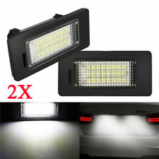2X No Error LED License Plate Light Lamp For BMW E82 E88 E90 E92 E39 E60 M5