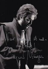 SIEGMUND NIMSGURN opera bass-baritone signed photo as a Bayreuth Wotan