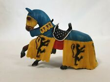 Schleich Knights Horse Germany Blue Yellow Horse Only 2003