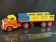 1950'S WYANDOTTE PRESSED STEEL CONSTRUCTION SUPPLY CO. SEMI TRACTOR TRAILER TOY