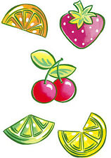 Wallies Wallpaper Cutouts 25 Happy Fruits #12206