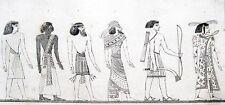 Connue peuples des Égyptiens 1839 peuple connus du egytiens Egypte Egypt