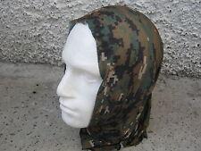 Army Surplus Woodland Digital Multi-functional Headover/ Headscarf NEW
