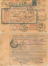 Czechoslovakia 1926 parcel post used Kosice to Constantinople . d6998
