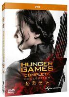 HUNGER GAMES - LA COLLEZIONE COMPLETA (4 DVD) Saga Completa