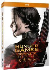 HUNGER GAMES - LA COLLEZIONE COMPLETA (4 DVD) Saga Completa PRENOT 21 Feb