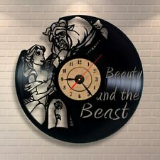 Vinyl Clock Modern Design Decorative Black Art Watch Clock Saat Decoration