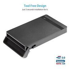 USB 3.0 Externes Festplattengehäuse 2.5 Zoll SATA SSD HDD Case Adapter mit Kabel