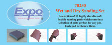 Expo - Wet and Dry Sanding Set - 10 sanding pads # 70250