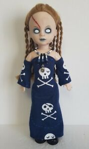 Living Dead Doll Clothes SKULLS GOWN & NECKLACE goth HM Fashion NO DOLL d4e