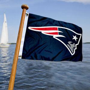 New England Patriots Small Mini Boat and Cart Flag