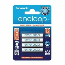 Panasonic Eneloop AAA 4 BK-4MCCE/4BE 750 mAH Rechargeable Batteries