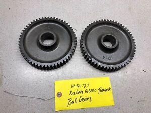 Kubota B6100 Transaxel Axle Bull Gears (2)