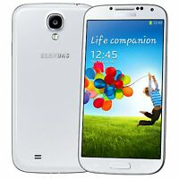 New  Samsung Galaxy S4 GT-I9505- 16GB White Black Unlocked Smartphone