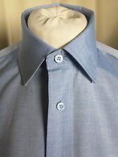 """Ted Baker Endurance 100% Cotton Blue Shirt 16"""" 40.5cm C42"""" EXCELLENT CONDITION"""