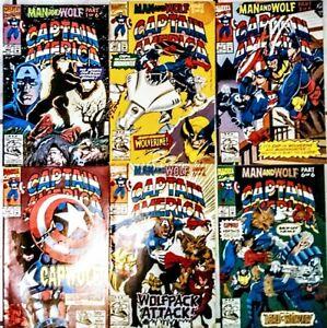 CAPTAIN AMERIWOLF #402 NM full set (1st capwolf)#1#2 #3 #4  #5 ...and #6 nice!