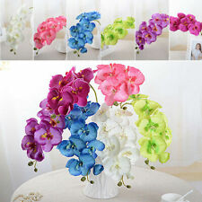 Multi-Color Artificial Silk Flower Phalaenopsis Butterfly Orchid Wedding Decor