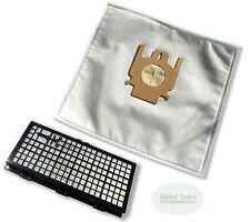 20 sacs à poussière + FILTRE HEPA convient à MIELE COMPLET C1 Tango Rouge edit.