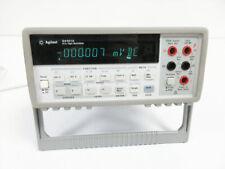 Agilent 34401a 6 12 Digit Multimeter Amp Bumper Set Keysight
