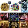 7M-22M String Lights Solar 200LED Outdoor Garden Path Yard Lamp Waterproof Light
