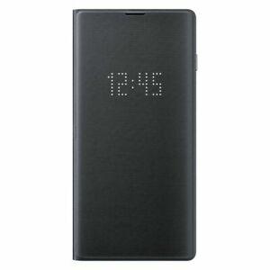 Original Samsung LED View Cover for Samsung Galaxy S10e S10+ Note10 5G (Black)