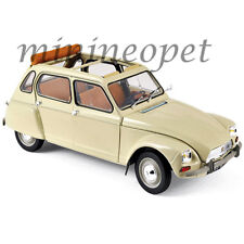 NOREV 181620 1970 CITROEN DYANE 6 1/18 DIECAST MODEL CAR ERABLE BEIGE