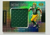 2020 Panini Illusions A.J. Dillon JUMBO Jersey RC, Instant Impact Packers Rookie