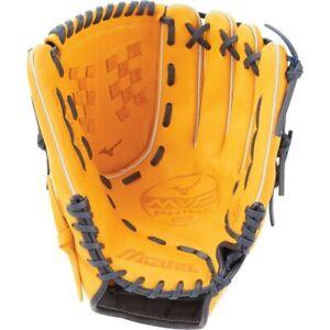 "Mizuno MVP Prime SE Fastpitch Softball Baseball Glove RH, 12.5"" Cork Blue Gold"