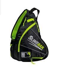 "Franklin Mlb Multi-Purpose Slingbak 18.5"" x 13"" x 8"" Black/Neon Green"