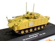 1/72 MCV-80 WARRIOR 7th ARMOURED BRIGADE IRAK 2003 TANK TANQUE ALTAYA DIECAST