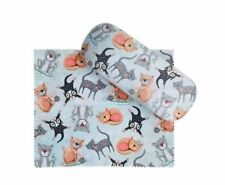 Cat glasses case & matching cleaning Cloth - Allen Designs
