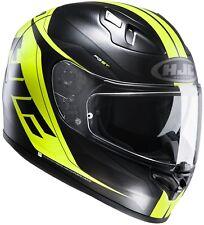 Helm HJC Fg-st CRONO Mc-4hsf Schwarz-fluo Gr.xs-xxl 58/m