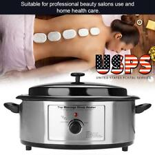 New Quart Massage Spa Salon Warmer Heating Device Volcanic Energy Stone Heater