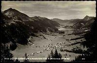 Nesselwängle Tirol Österreich s/w Postkarte 1956 gelaufen Panorama mit Haldensee