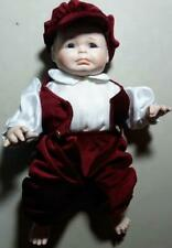 "1988 - Virginia State Fair - Porcelain Boy Doll  - Crying - 14"" - Tarko's"