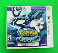 Pokemon: Alpha Sapphire (3DS, 2014) Authentic & Tested - No Manual