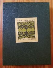 The Hobbit JRR Tolkien Collector's Edition First Printing W/ Slipcase