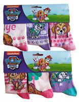 Nickelodeon Paw Patrol Skye und Everest Socken für Mädchen im 6er Pack NEUWARE